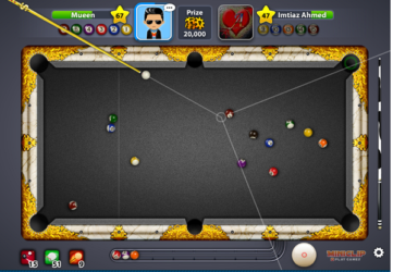 ... Ball Pool Cheats Long Line or Target Line Hack by Cheat Engine Trainer